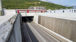 Collombey: le tunnel de la vallée est rouvert
