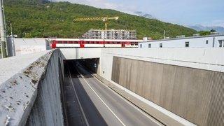 Collombey: le tunnel de la vallée fermé pour travaux