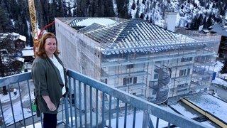 Zinal: un an après l'incendie, le complexe de vacances Intersoc panse ses blessures