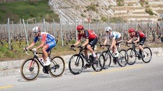 Cyclisme: Sébastien Reichenbach, chez lui à Martigny, n'a pas eu de bon de sortie