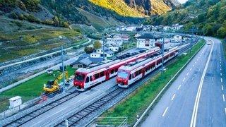 Trois mois sans train entre Martigny et l'Entremont