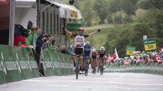 Cyclisme: Loèche-les-Bains a choisi de durcir la course lors du Tour de Suisse
