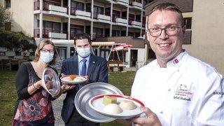 Val d'Hérens: métamorphose pour les assiettes du home Saint-Sylve