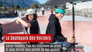 Martigny: le skatepark des Vorziers est ouvert. Visite guidée avec 2 pros