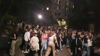 À Sion, des centaines de jeunes s'emparent de la rue