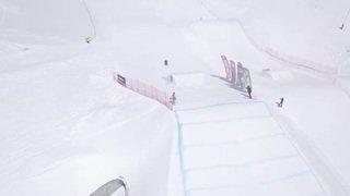 Saut Freestyle Ski Valais