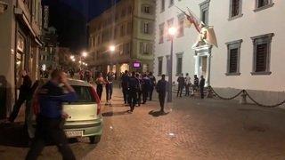 À Sion, des centaines de jeunes s'emparent de la rue (1)