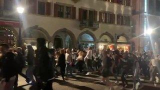À Sion, des centaines de jeunes s'emparent de la rue (3)