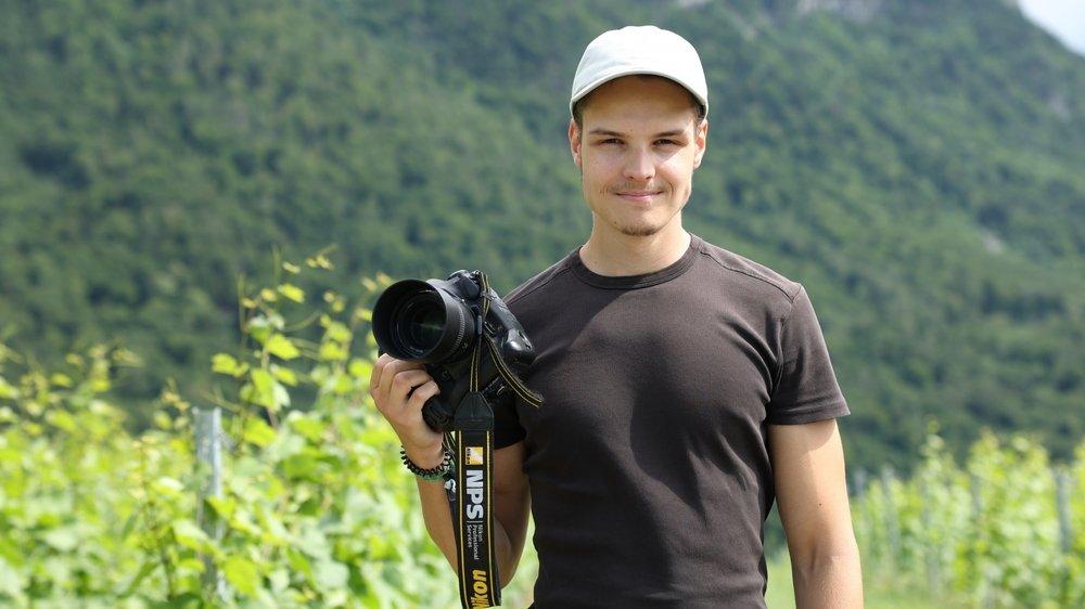 Gabriel Monnet a commencé la photographie très jeune avec un appareil offert par son parrain.