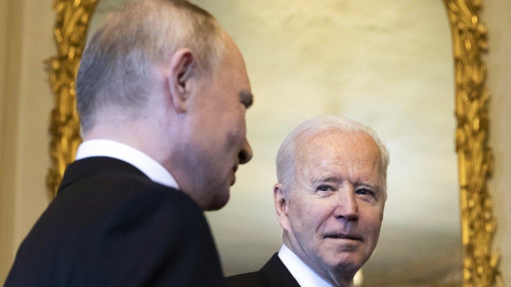 Vladimir Poutine: «Joe Biden est un leader expérimenté, très différent du président Trump.»