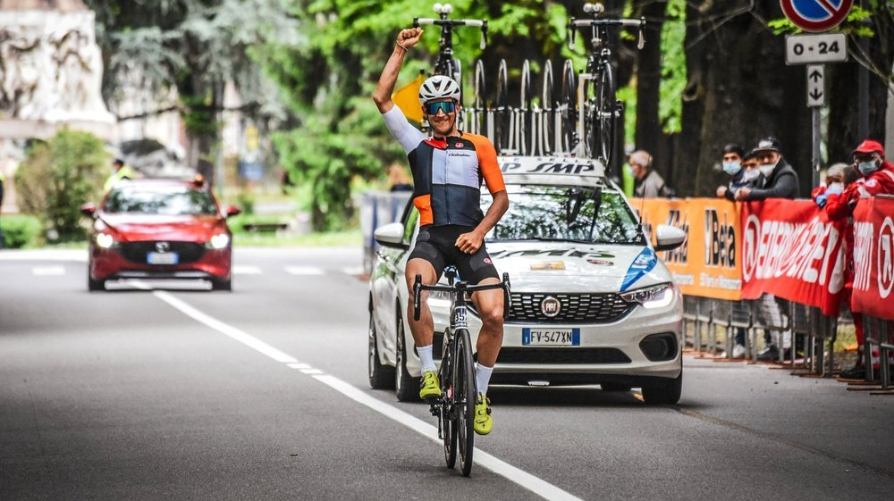 Raphaël Addy a décidé au dernier moment de se rendre à Laigueglia.