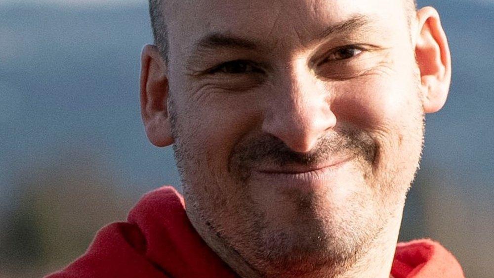 Alexandre Jollien, auteur, philosophe et depuis peu, coréalisateur et comédien pour le cinéma.
