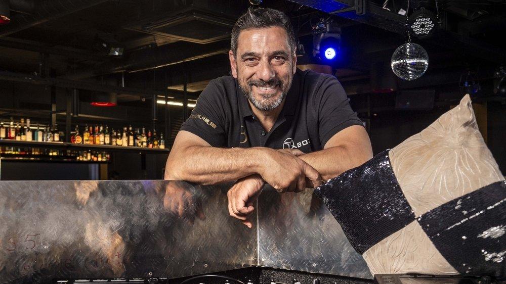Fernando Cimino, patron du Juke Box, ouvre sa discothèque ce samedi avec un sytème de test rapides à l'entrée.