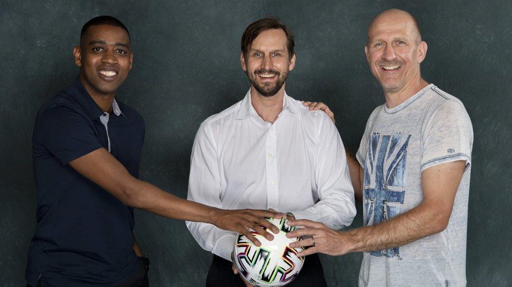 """""""Le Nouvelliste"""" a réuni Gelson Fernandes, Johann Lonfat et Stéphane Grichting, trois anciens internationaux, pour lancer l'Euro 2021 lors d'une table ronde."""