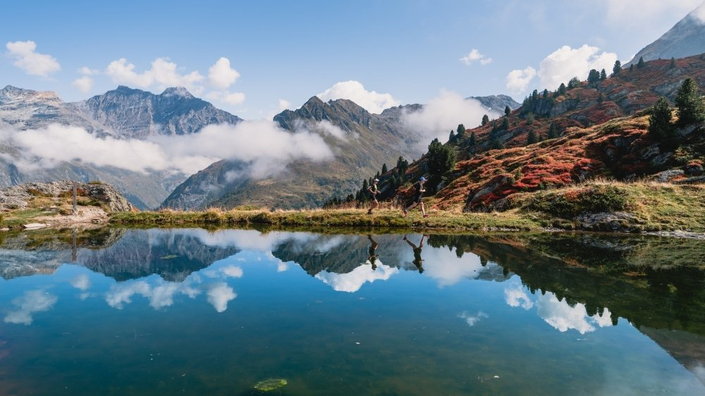 Au-delà de l'aspect performance, les randonneurs participent souvent à des trails pour découvrir de magnifiques paysages et accéder aux plus beaux coins du Valais.