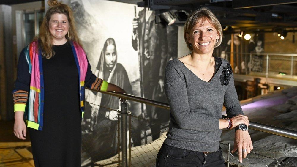 Les historiennes Carmen Simon et Marie-France Hendrikx ont conjugé leurs regards pour faire émerger le thème de l'égalité au pied du Cervin.