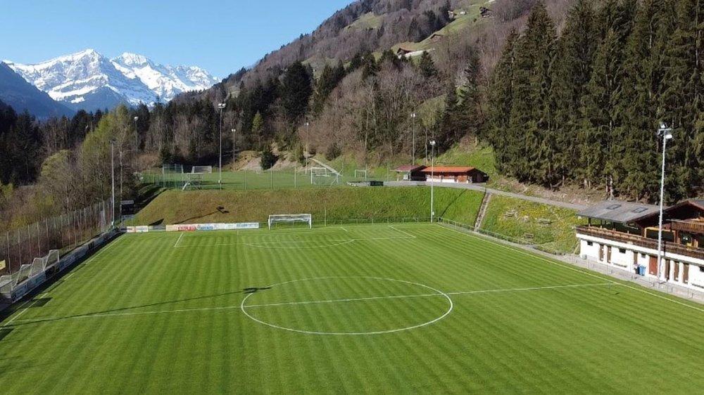Le terrain du FC Troistorrents accueillera une émission de Couleur 3 lors du match Suisse-Pays de Galles, samedi.