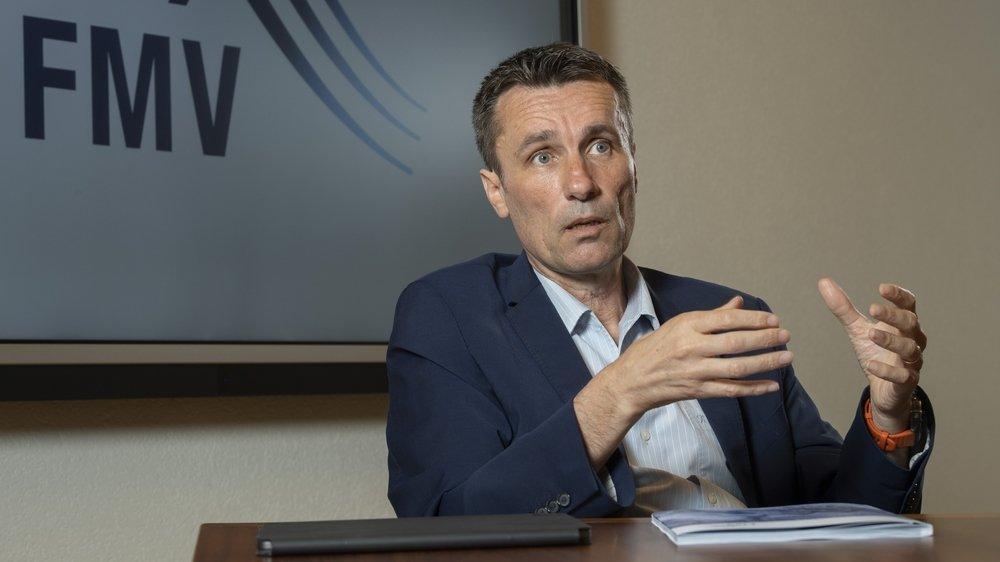Stéphane Maret, directeur général de FMV SA (Forces Motrices Valaisannes SA).