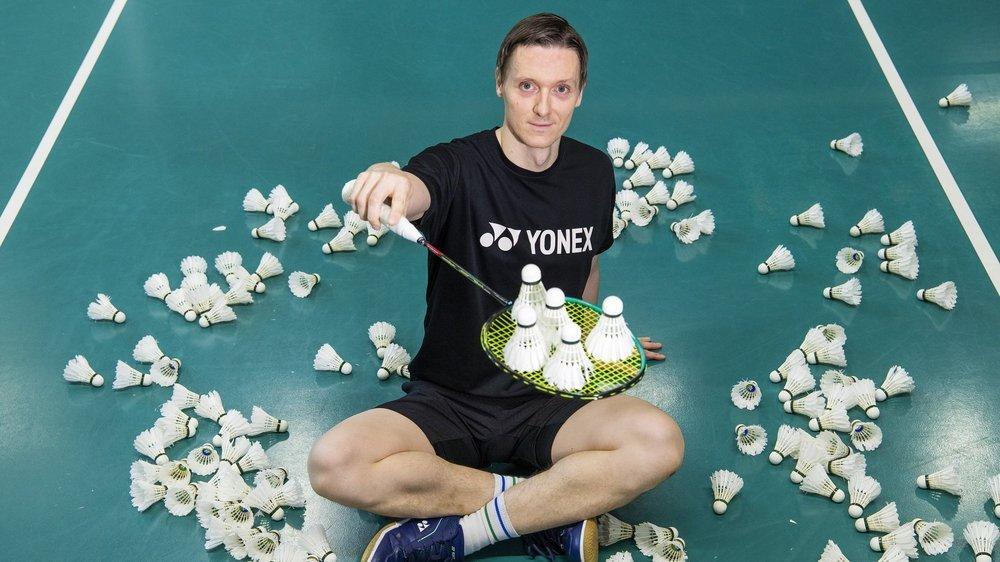 Kai Waldenberger a fait de sa passion pour le badminton son métier en devenant entraîneur.