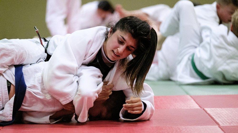 Priscilla Morand s'est inclinée face à une Kazakhe qui lui était supérieure.