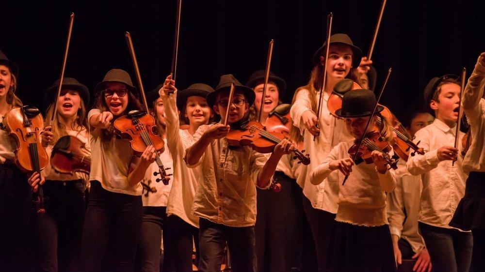 Les Ministrings seront sur scène le dimanche 5 septembre pour un concert jeune public.