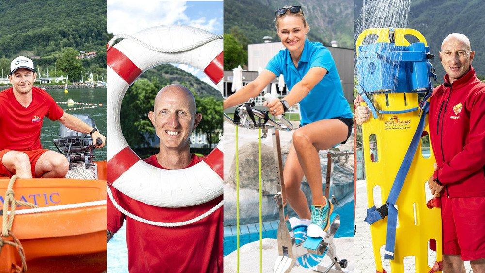 De Brigerbad au Bouveret, quatre maîtres nageurs, dont une femme, racontent comment ils vivent leur métier.