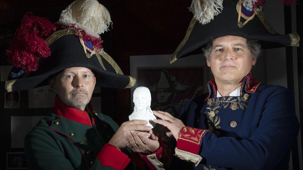A l'instar de Serge Métrailler et François Gianadda, l'esprit de Napoléon est encore bien vivant en Valais.