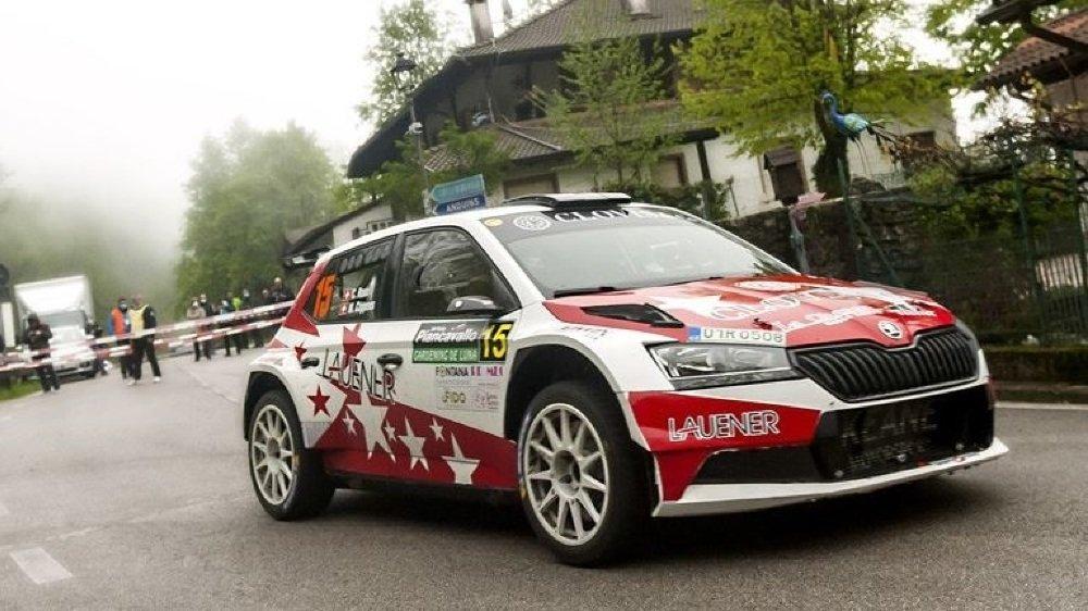 Mike Coppens a une revanche à prendre sur le Rallye du Chablais. Il fait partie des sérieux candidats à la victoire.