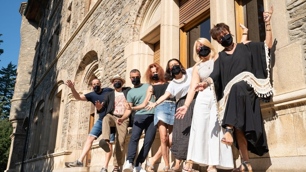 L'équipe de DreamAgo lors de l'édition 2020 au château Mercier à Sierre.