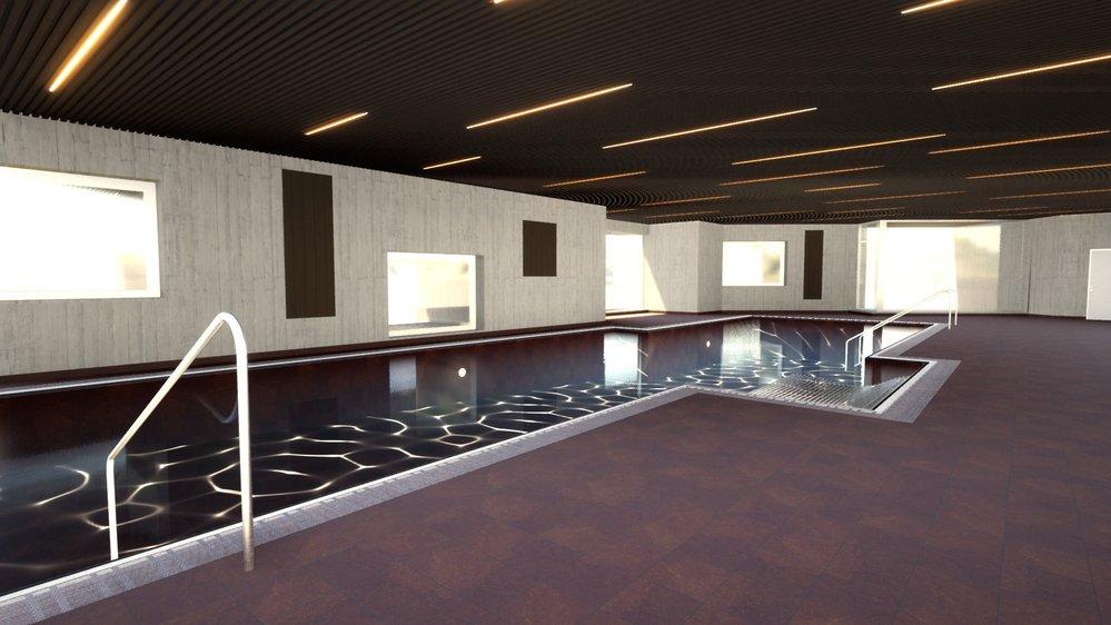 Le spa du Grand Hôtel du Cervin de Saint-Luc devrait être terminé pour la fin de l'année.