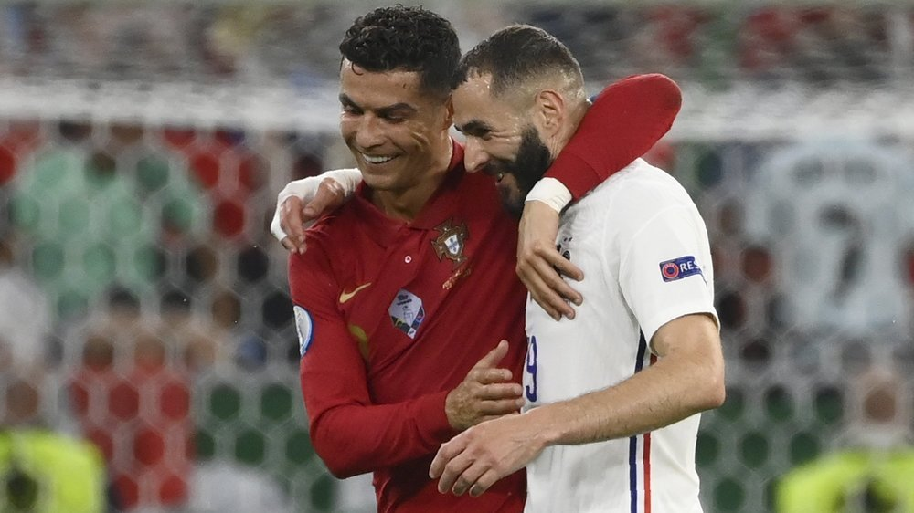 Le match Portugal-France a débouché sur un duel à distance entre les deux amis Cristiano Ronaldo et Karim Benzema.