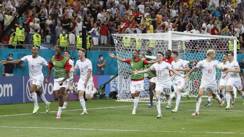 La Suisse a gagné le respect des supporters espagnols. Mais depuis lundi, seulement.