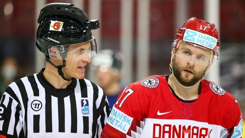 Michael Tscherrig s'est retrouvé sur la glace de Riga aux côtés des stars du hockey mondial.