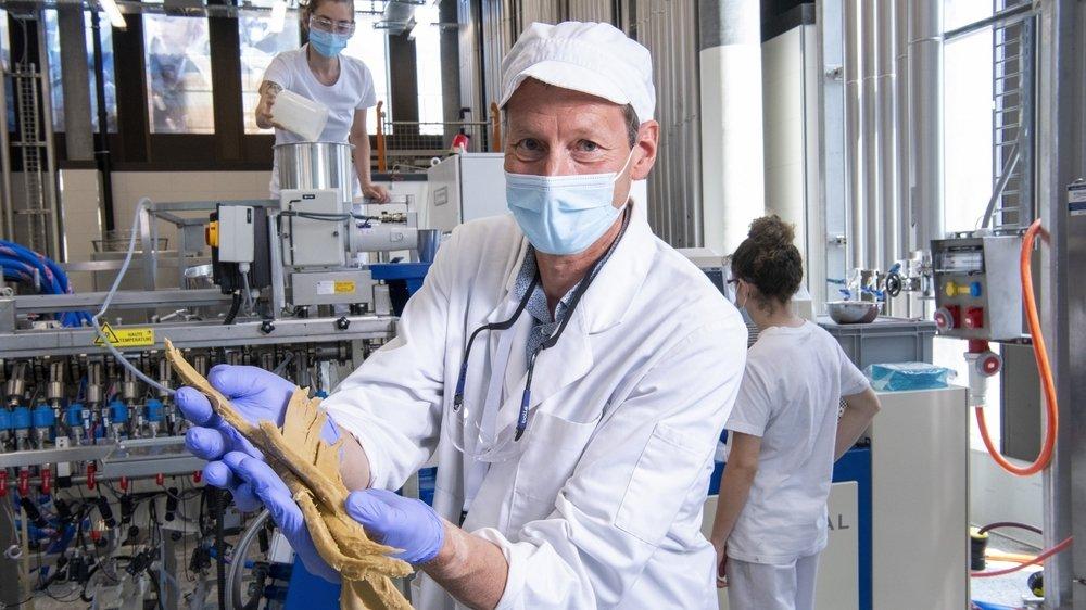 Le professeur Michael Beyrer et son équipe travaillent au développement de substituts de viande à base de protéines végétales.