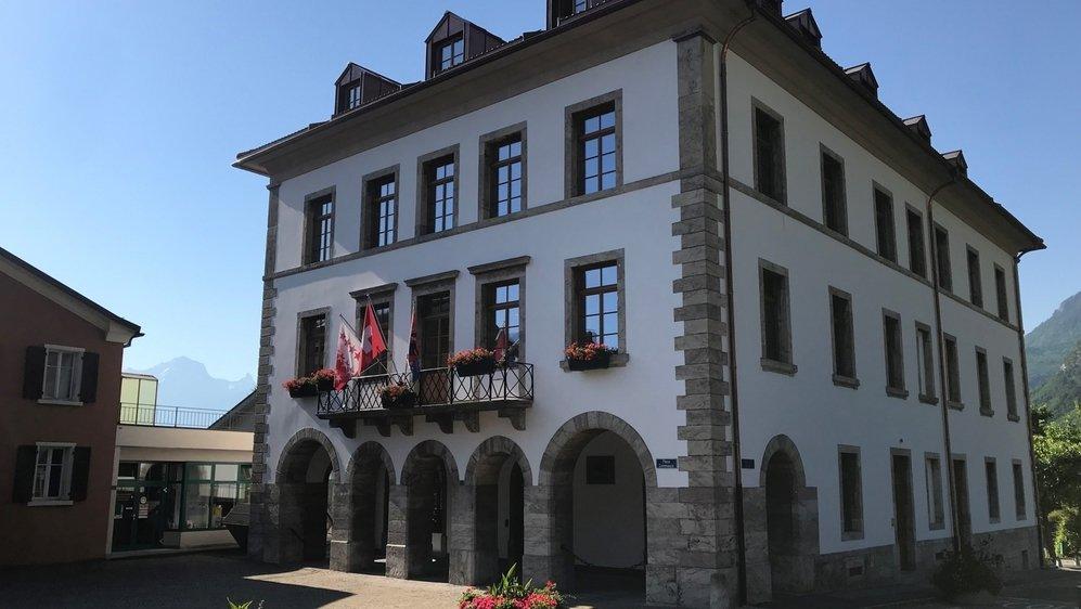 La maison communale de Vouvry est considérée comme digne de sauvegarde.