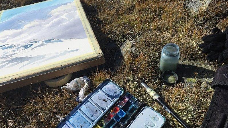 Le Val Ferret en aquarelle