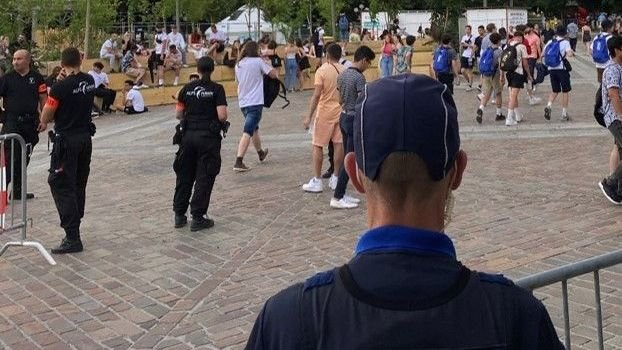 Sion, fête des étudiants sous contrôle policier