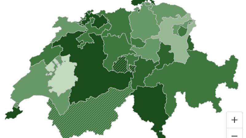 Coronavirus en chiffres: vaccination, incidence, infections en Suisse... nos infographies