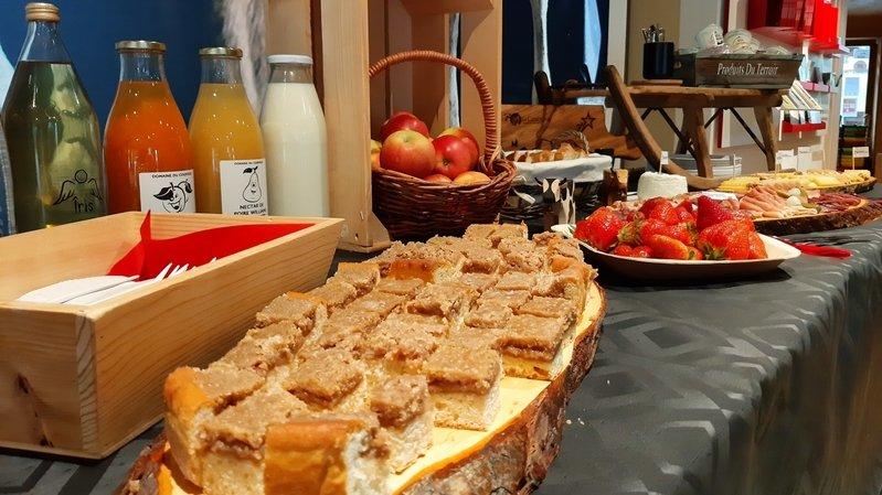 Le petit-déjeuner terroir Région Dents du Midi sera disponible dès cet été.