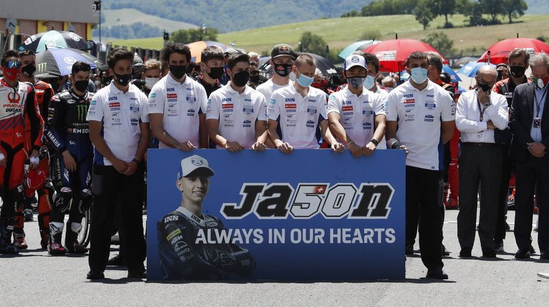 Décès de Jason Dupasquier: pour l'ancien pilote Jacques Cornu, «il n'y a pas de coupable à chercher»