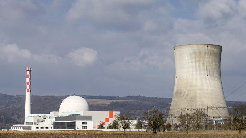 Révisions annuelles: trois des quatre réacteurs nucléaires suisses à l'arrêt