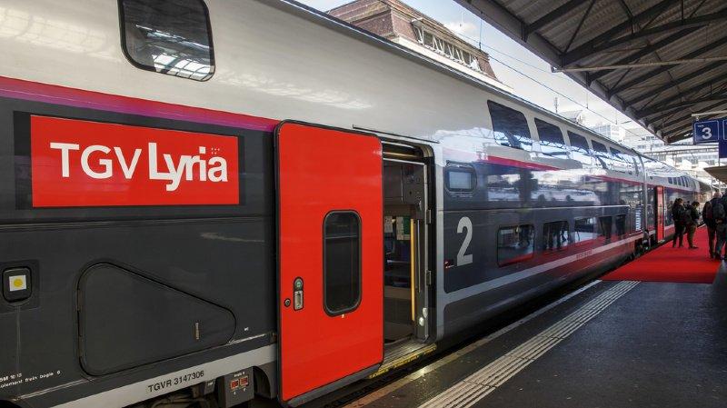 Une étude menée par l'institut de recherche Infras révèle que le TGV entre la Suisse et la France est moins polluant.