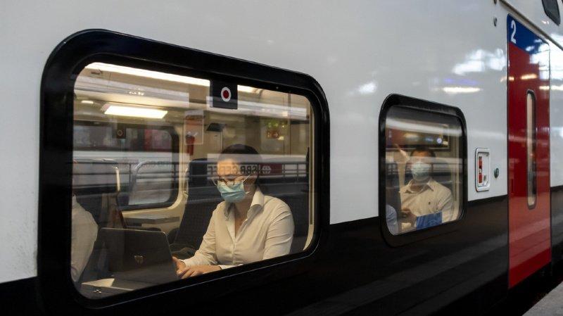 Coronavirus: aucune infection recensée dans les trains CFF