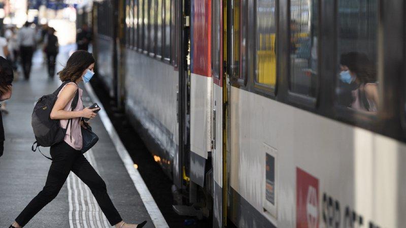 CFF: les trains circulent à nouveau entre Fribourg et Berne