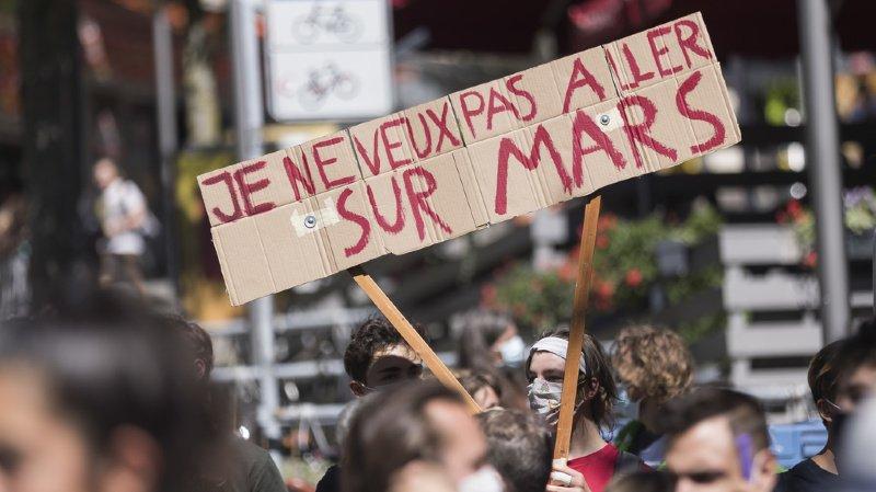 Grève du climat: le Conseil fédéral se justifie sur les perquisitions d'activistes