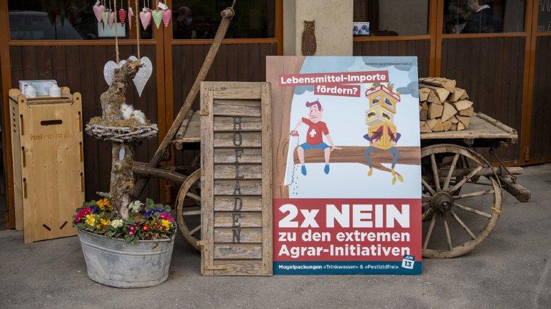 A deux semaines des votations du 13 juin, la tendance s'est inversée pour les deux initiatives anti-pesticides.