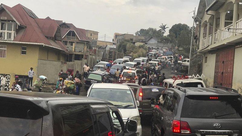 Volcan: Goma en partie évacuée, un risque de catastrophe majeur