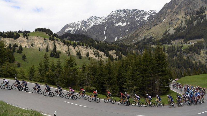 Cyclisme: Caruso gagne la 20e étape du Giro, Bernal toujours en rose