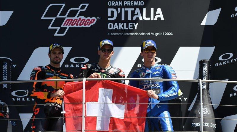 Motocyclisme – GP d'Italie: Quartararo gagne et dédie son 6e succès à Dupasquier