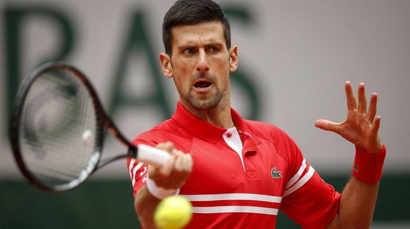 Djokovic s'est hissé sans trembler en 8e de finale à Roland-Garros.